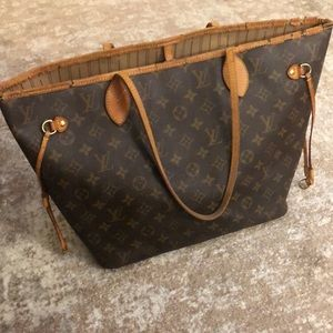 Louis Vuitton Neverfull Work Tote